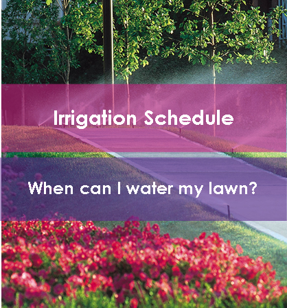 Link to Irrigation Schedule Page